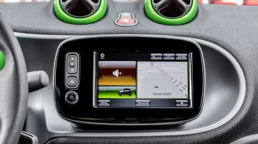 Smart ForTwo Cabrio Electric Drive - sat-nav