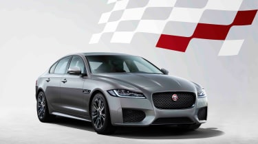 Jaguar XF Chequered Flag - front