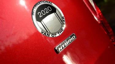 Ford Transit Custom PHEV - badge