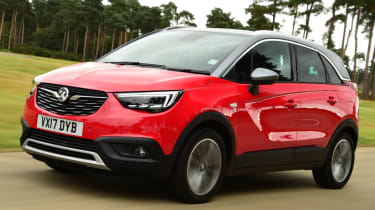 Safest cars for sale in the UK - Crossland X