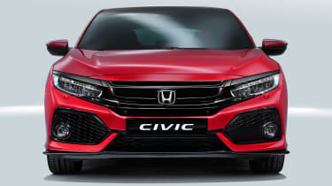 Honda Civic - full front