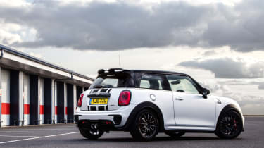 MINI John Cooper Works Challenge - rear static