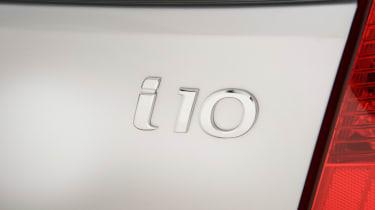 Used Hyundai i10 - badge