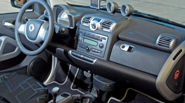 Smart ForTwo Cabriolet dashboard