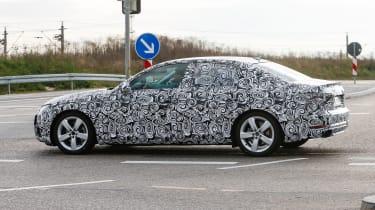 New Audi A4 2015 spy shots 5