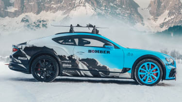 Bentley Continental GT ice racer - side static