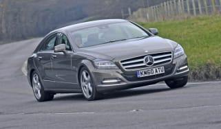 Mercedes CLS corner