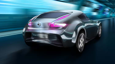 Nissan ESFLOW electric sports car rear