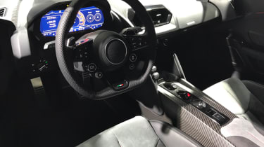 Italdesign Zerouno - Geneva interior