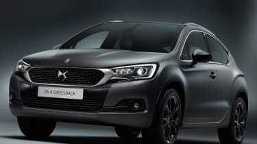 DS 4 Crossback Moondust - front