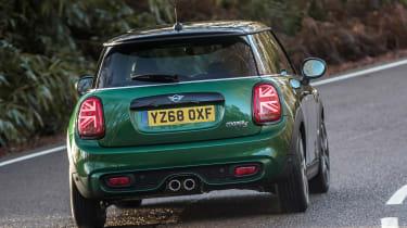 MINI Cooper S 60 Years Edition - rear cornering