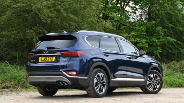Hyundai Santa Fe - long-term first report rear static