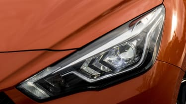 New Nissan Micra - front light detail
