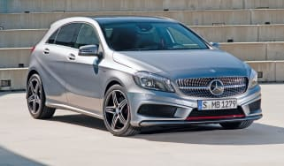 Mercedes A-Class front three-quarters
