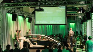 Flax fibre car - event