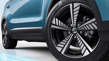 MG eZS - wheel