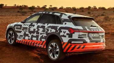 Audi e-tron Prototype review - rear wheel cocked