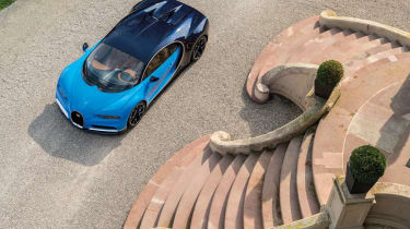 Bugatti Chiron 2016 - Front Shot From Above