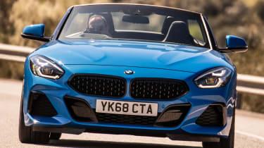 BMW Z4 - front cornering