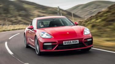 Porsche Panamera Turbo front - Footballers' cars