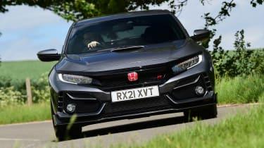 Honda Civic Type R Sport Line - front cornering