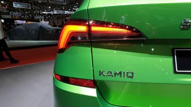 Skoda Kamiq - Geneva rear detail