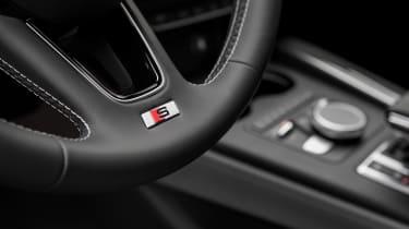 Audi S5 Sportback - steering wheel detail