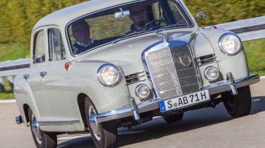 70 years of Mercedes E-Class - 180 Ponton