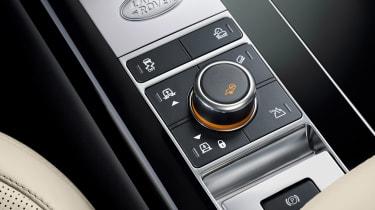 Range Rover SDV8 - centre console