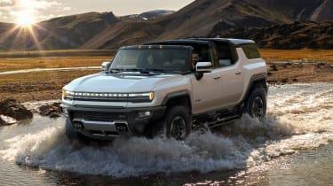Hummer EV GMC - wading