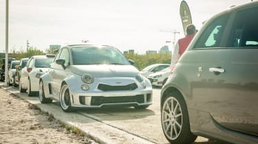 Abarth's 70th Anniversary - Modified Abarth 595 front