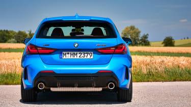 BMW M135i 2019 rear