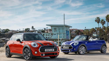 MINI hatch and MINI Convertible - front