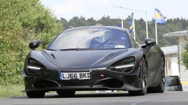 McLaren 750LT - spyshot 1