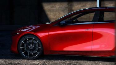 Mazda Kai concept - side detail