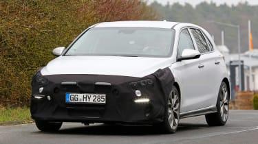Hyundai i30 N Line spy shots