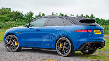 Jaguar F-Pace SVR - rear (watermarked)