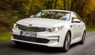 New Kia Optima 2015 front