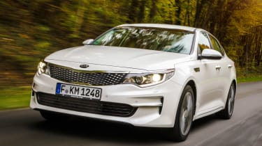 New Kia Optima 2015 front