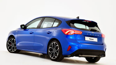 New Ford Focus S-Line studio - rear
