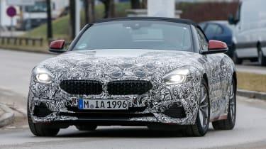 New BMW Z4 headlights