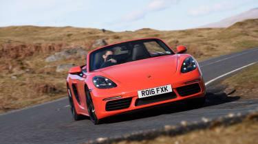 Porsche 718 Boxster UK