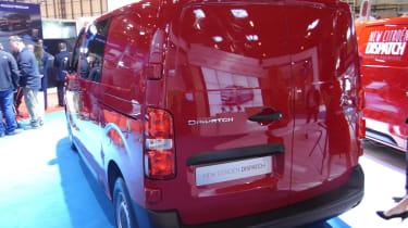 Citroen Dispatch CV Show - rear three quarter