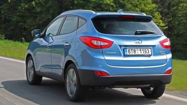 Hyundai ix35 Premium SE rear tracking