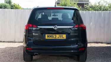 Used Vauxhall Zafira Tourer - full rear