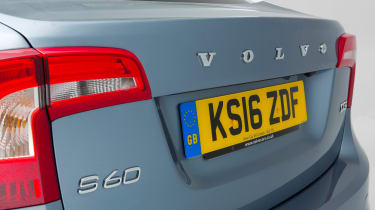 Used Volvo S60 - rear detail