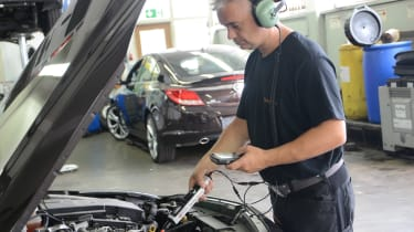 Ultrasound engine check
