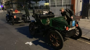London to Brighton Veteran Car Run  -  starting