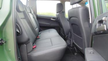 SsangYong Korando Sports DMZ - rear seats
