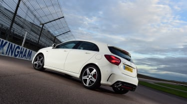 Mercedes A 250 AMG rear static